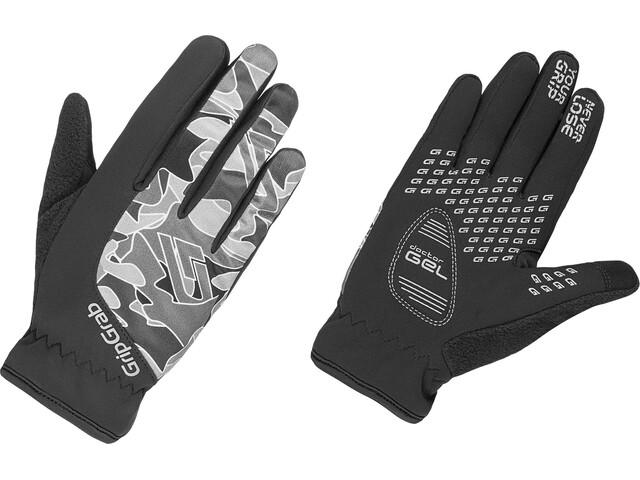 GripGrab Rebel Handskar Barn grå svart - till fenomenalt pris på ... dde74a64209d6